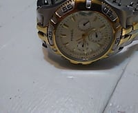 round gold-colored chronograph watch with link bracelet East McKeesport, 15035