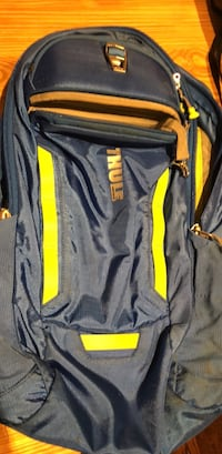 gray and yellow Nike backpack Currie, 28435