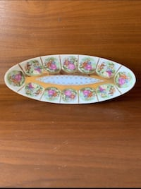 small tray or bowl of Asian porcelain Tustin