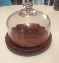 clear glass jar with lid Whitby, L1N 1W4