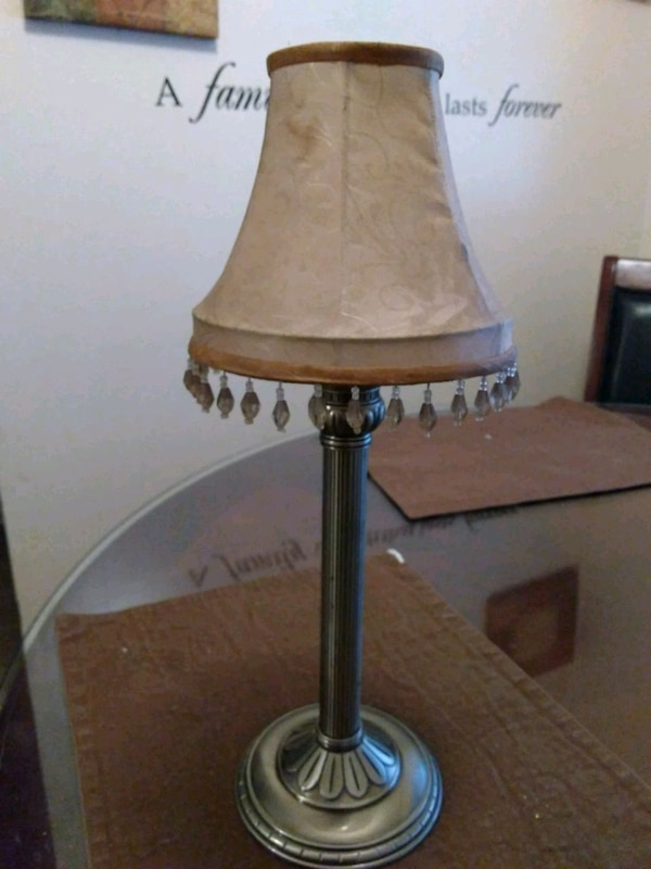 PartyLite candle lamp