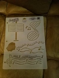 white musical note