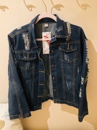 Fashion Jeans Quality Collection Distressed Jean Jacket Sizes S M L XL Dumfries, 22026