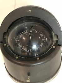 """Large 6"""" diameter by 8 1/2"""" high Danforth Compass, very good condition. Retails over $400.00 new, yours for $150.00 581 km"""