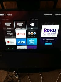 """Roku Television 32"""" with remote trying to get rid of today."""