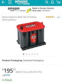 black and red Coleman Powermate portable generator screenshot Redwood City, 94061