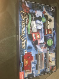 New Christmas train four under Christmas tree 2392 mi