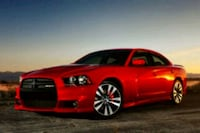 Dodge Charger rouge berline