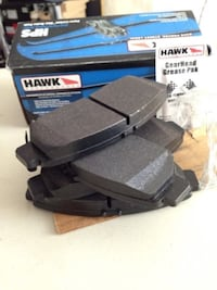Hawk brake pads and rotors Toronto, M1L 4V9