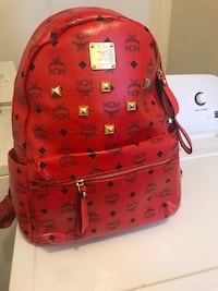 red and black MCM leather backpack Austell, 30168