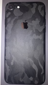 IPHONE 8 Dbrand skin black camo, mint condition