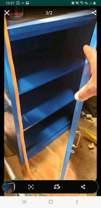 30 x 22 cabinet with 3 shelves