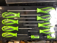 MATCO premium 10 piece screwdrivers  Edmonton, T6R 0W3