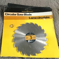 Saw blades, I have two of these saw blades, $4.00 each Langley, V1M 2G2