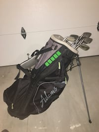 Adams golf bag with irons and 50 balls London, N6K