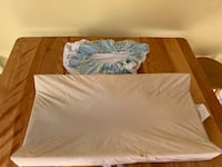 Changing pad with cover.  Leominster, 01453