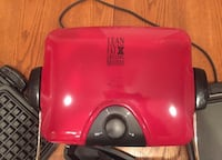 Lg George foreman Grill like new with many options & pieces never used Belle Chasse, 70037