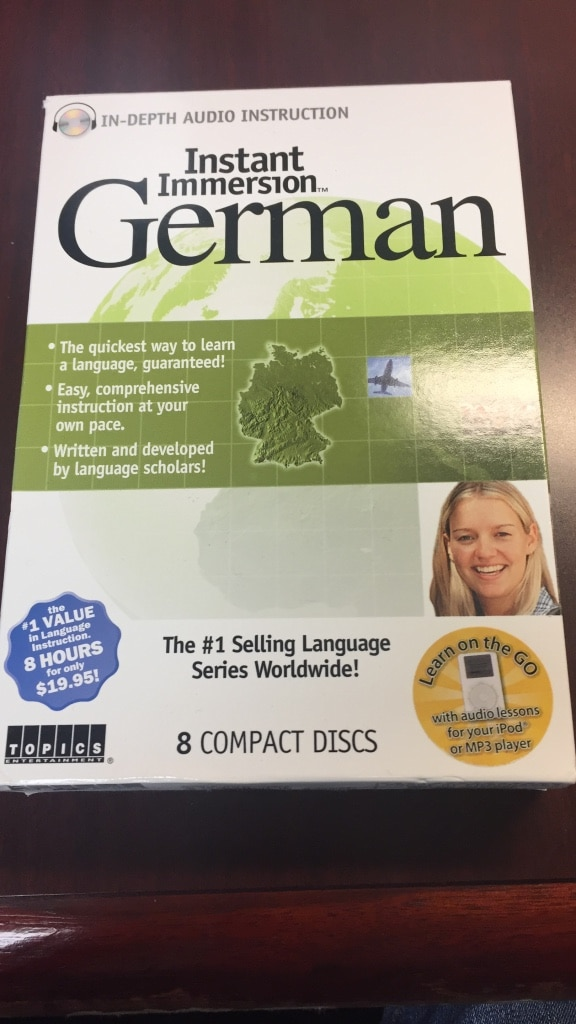 Instant Immersion German box for sale  Columbus