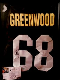 Pittsburgh Steelers Autographed L.C. Greenwood Jersey  w/COA