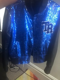 Black and blue true religion sparkle jacket  St. Louis, 63104