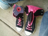 Purple and pink chuck taylor converse high-top vel Ocean Springs, 39564