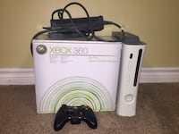 white Xbox 360 console with controller Toronto, M4J 3C9