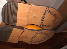Brown Milan Dress shoes 11.5