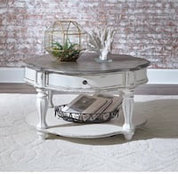 New! Round coffee table and two end tables Fredericksburg, 22406