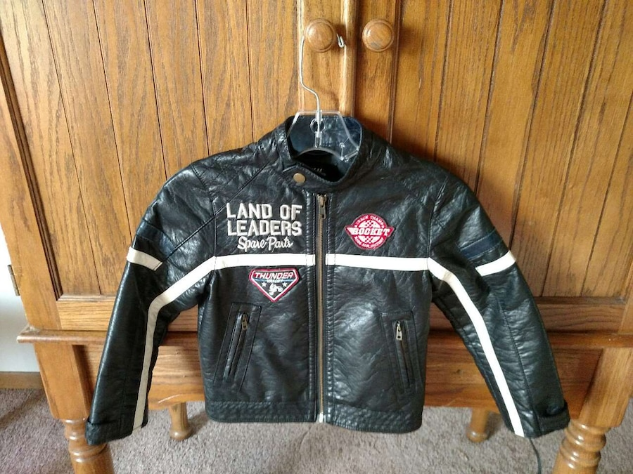Child Leather Jacket