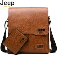 Brand new Jeep Branded Leather bag Hamilton, L9B 1T5