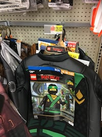 Brand New Lego Ninja costume 4-6T. New at store for $30 plus tax.  Surrey, V4N 4E8