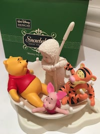 Department 56 Snowbabies Disney Blustery Day with Winnie The Pooh TORONTO