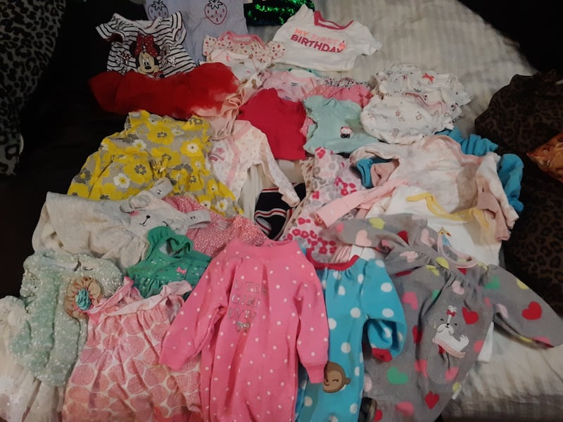 Box of baby clothes 7c1256a8-fba4-42b0-a1d7-92bdd34fcd0d