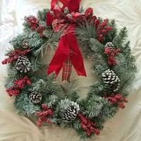 Holiday wreath with bag New Hope, 55427