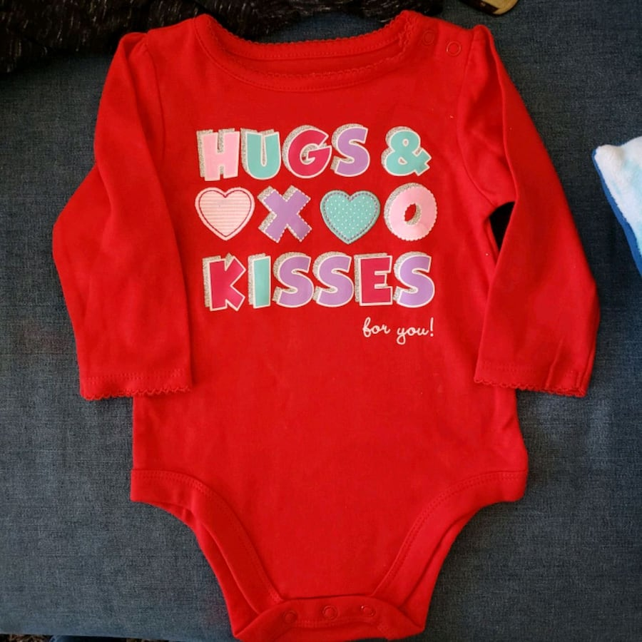 6_12 m baby girl onesie new without tagafrom Garanimals