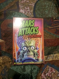 Mars Attacks Dice Game, Never used.  Edmonton, T5N 0T1