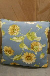 blue and yellow floral throw pillow Port Wentworth, 31407