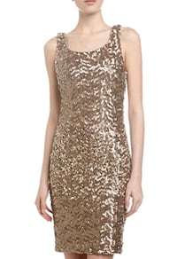 NWT Laundry by Shelli Segal Sequin Tank Dress Montreal, H3T 1E2