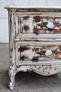 white and brown wooden 3-drawer chest Waldorf