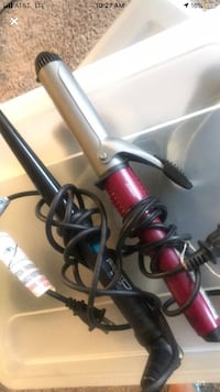 Wand & curlers