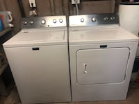 white clothes washer and dryer set Guadalupe, 85283
