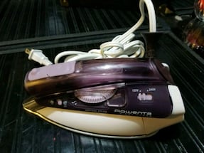 Rowenta Vertical Steam Travel Iron.