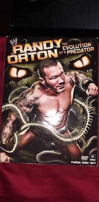 Randy Orton The Evolution of a Predator DVD New York, 10457