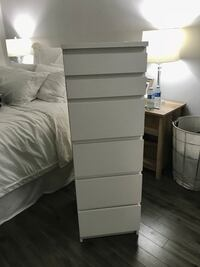 White Ikea 6-drawer chest  Abbotsford, V2S