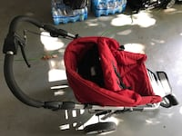red and black pet carrier Arlington, 22201