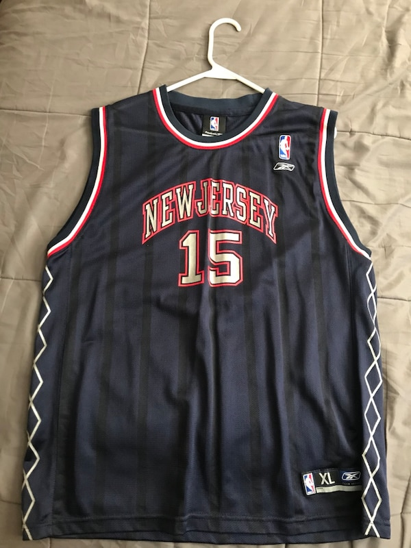 0c7588a4e65 Used New jersey nets vince carter jersey for sale in Lorain - letgo