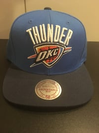 blue and white OKC Thunder Mitchell and ness cap Toronto, M1P 4T9