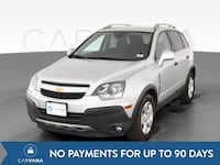 2015 Chevy Chevrolet Captiva Sport suv LS Sport Utility 4D Silver Fort Myers