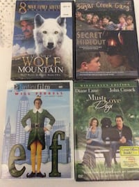 4 unopened DVD all PG13 North Fort Myers, 33903