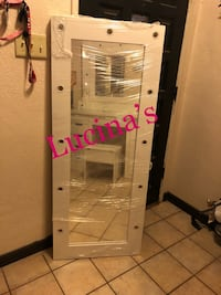 white and pink wooden cabinet El Paso, 79904